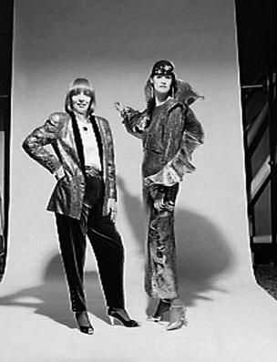 Designers 1983/93 - Italian fashion designers, studio portraits.